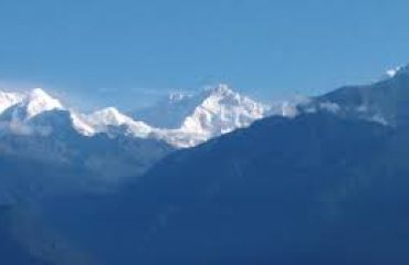 kanchenjunga from pelling