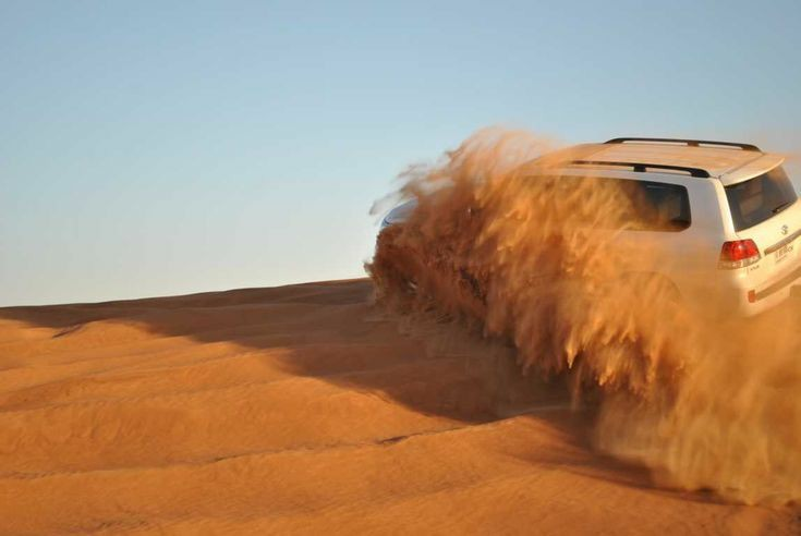 Dune Bashing in Thar desert
