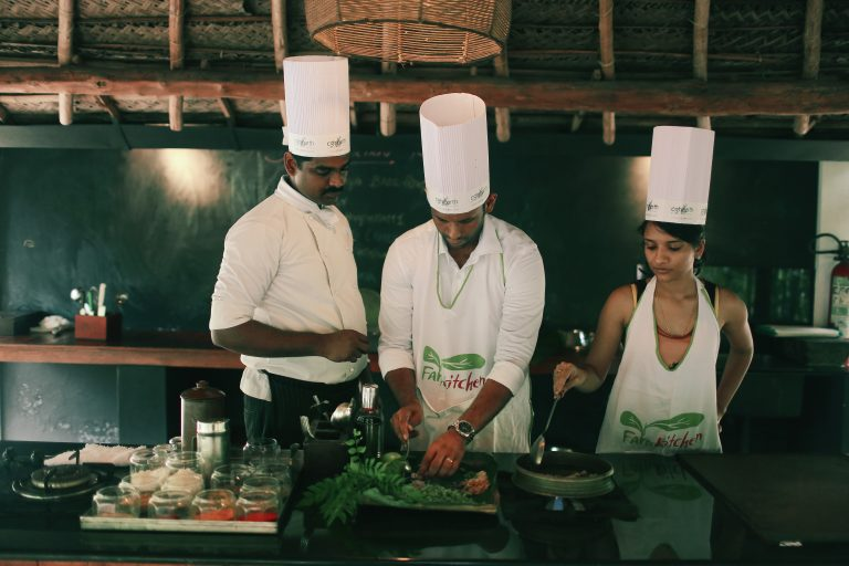07_Marari Beach Farm Kitchen Cooking Demo